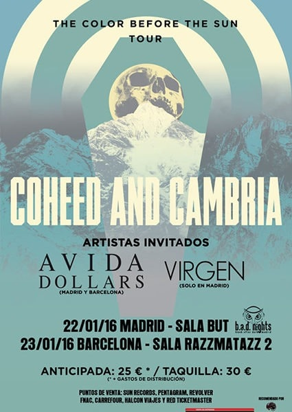 AVIDA DOLLARS – Aquelarre metal rock fest – CHEAP WINE (FRA)