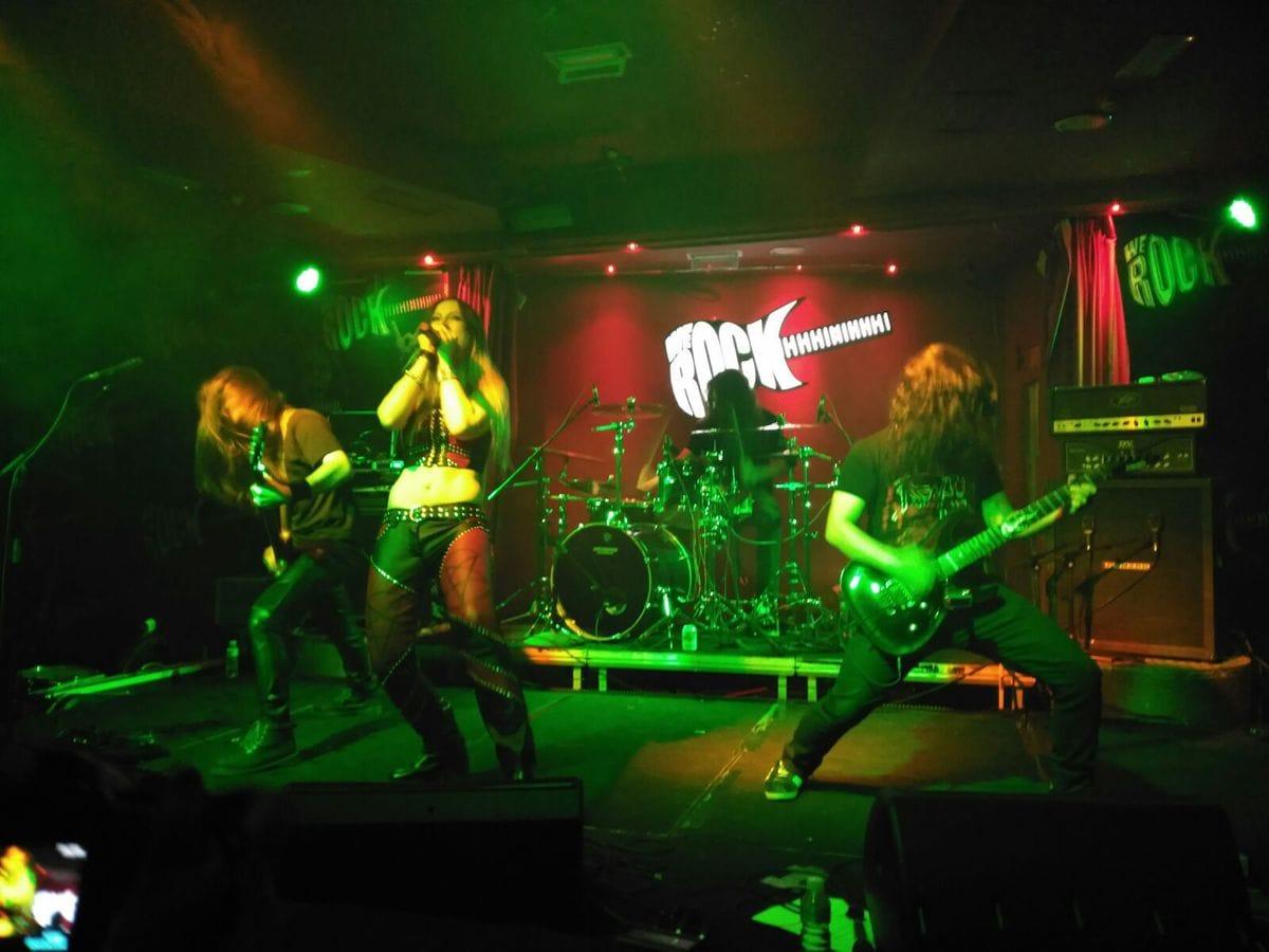 NIGHTRAGE + METHEDRAS + BLOODHUNTER + ETERNAL STORM – Madrid – 17/12/15