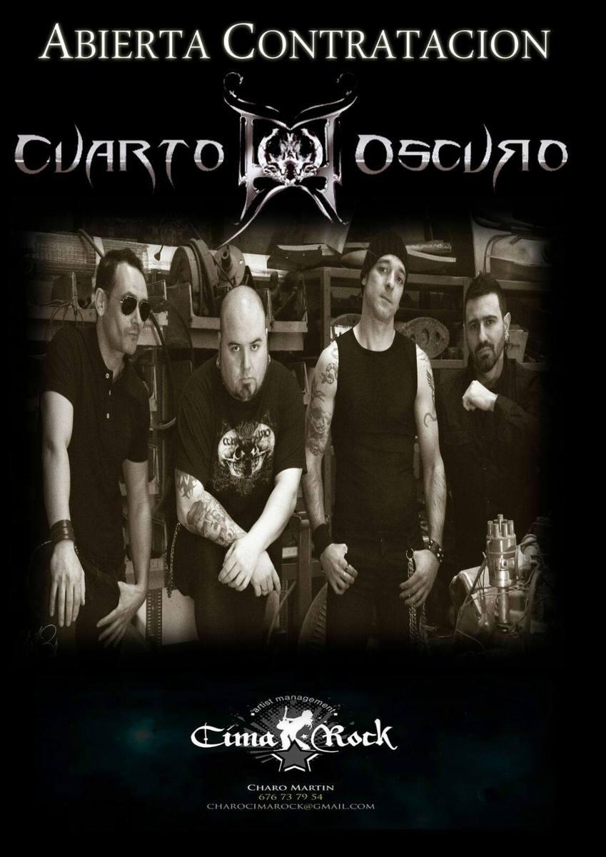 CUARTO OSCURO firma con Cima Rock