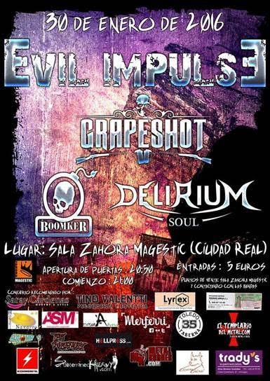 Z! Live Rock Fest – EVIL IMPULSE – XV Skulls of Metal
