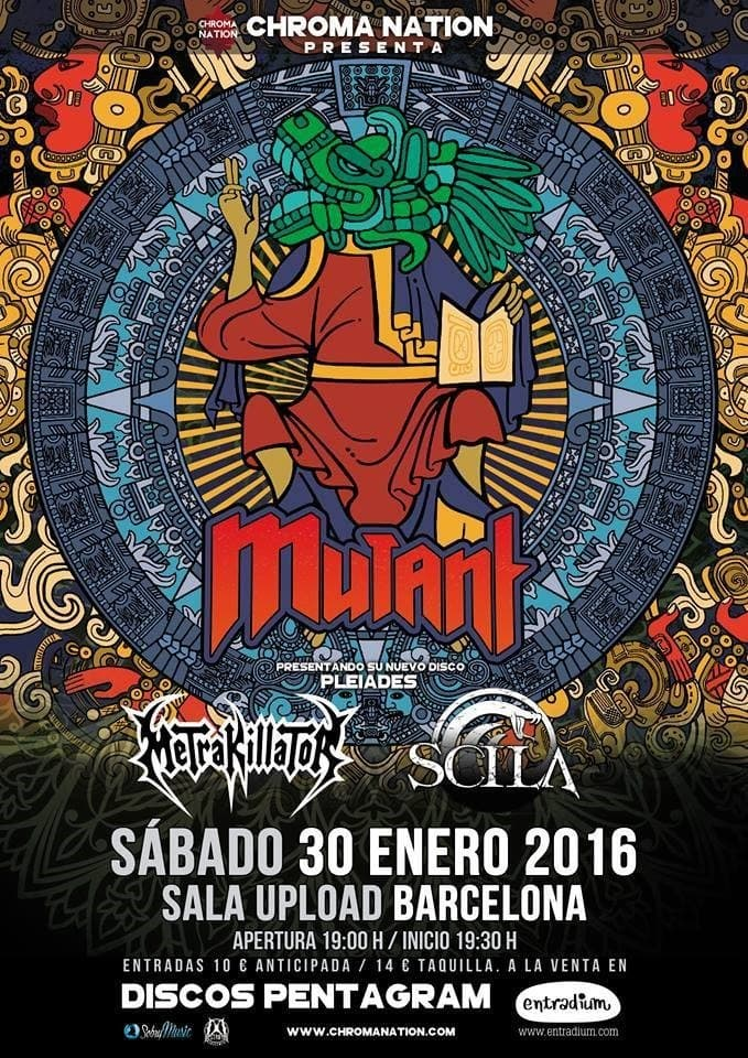 Sweden Rock Festival 2016 – MUTANT – ARENIA
