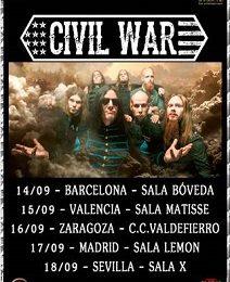 CIVIL WAR (SWE) – MADRID HXC FEST #1 – HARD VALENTÍN