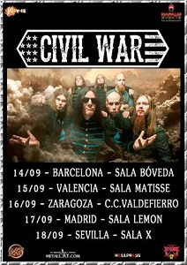 CIVIL WAR (SWE) – MADRID HXC FEST #1 – HARD VALENTÍN