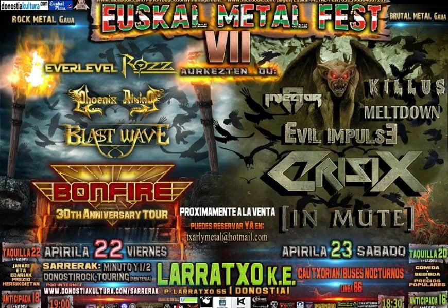 Euskal metal fest VII