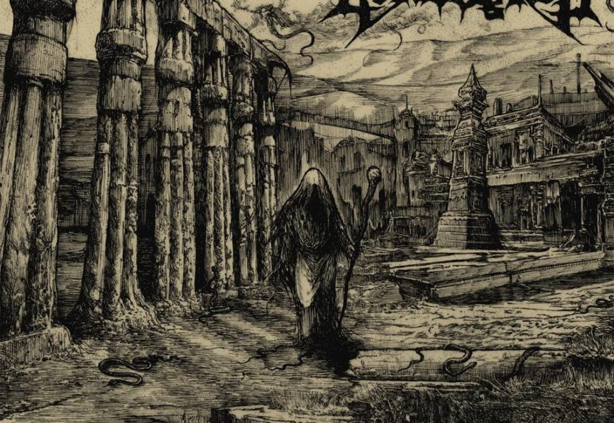 GRAVEYARD  – …For thine is the darkness, 2016