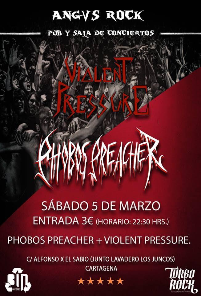 CUERNOS DE CHIVO – VENDETTA FM – PHOBOS PREACHER