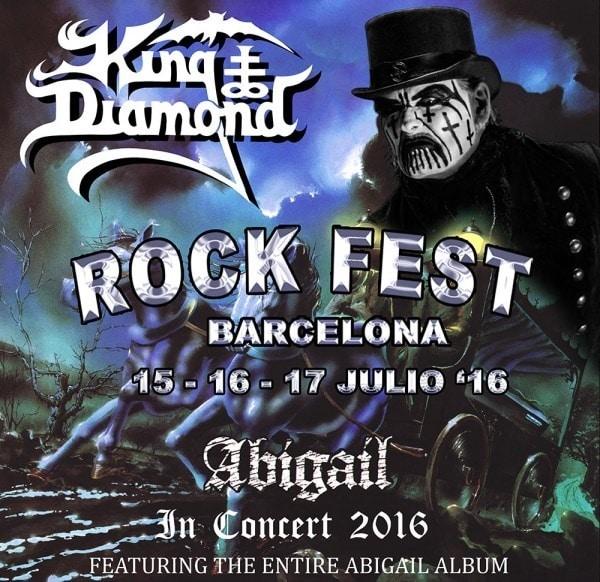 Rock Fest Barcelona anuncia cabeza cartel para el viernes 15 de julio
