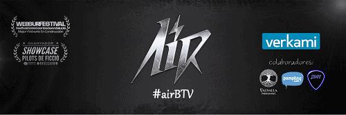 Comienza el crowdfunding de la webserie AIR
