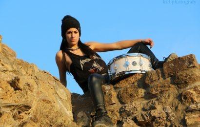 Conociendo a… Laura Morín, baterista de ELISA C. MARTIN