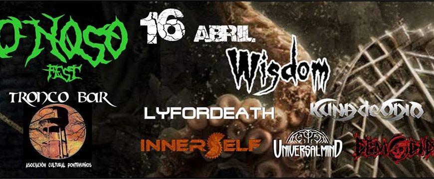 O noso fest: 16 de abril en Pontevedra