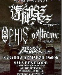 The Art Of The Occult Fest – VI Navarra's Metal Fest – SKUGGSJÁ (NOR)