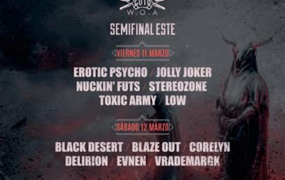 W:O:A METAL BATTLE 2016: Semifinales Norte y Centro