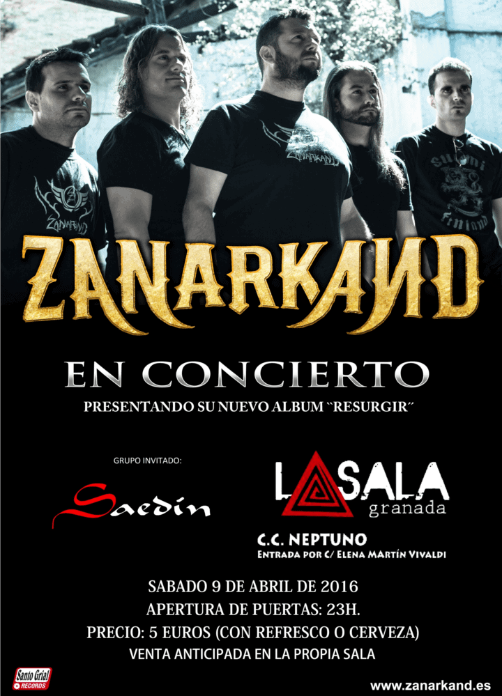 ZANARKAND – SOVENGAR – IN MOURNING (SWE)