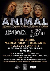 A.N.I.M.A.L. (ARG) – HARDCORE NIGHT FEST – THE METAL SESSIONS 1: A BLACK NIGHT
