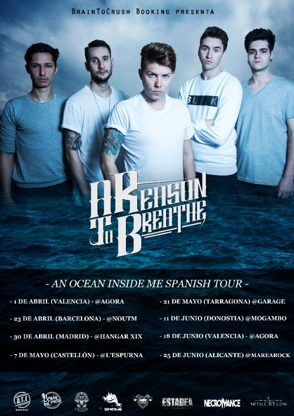 A REASON TO BREATHE – LIVE BURIAL (GBR) – CLOSE TO THE SKY
