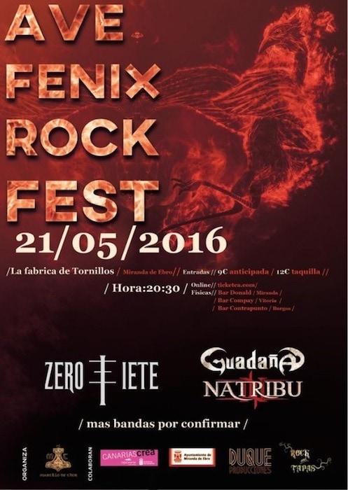 OKER – Ave Fenix Rock Fest – CELTIBEERIAN