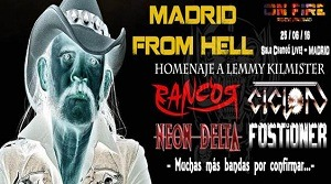 MADRID FROM HELL – FOSTIONER – AGUC FEST V