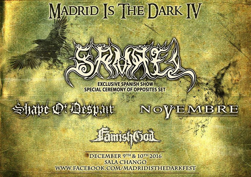 Madrid Is The Dark IV – NERVOSA (BRA) – CANDLEMASS (SWE)