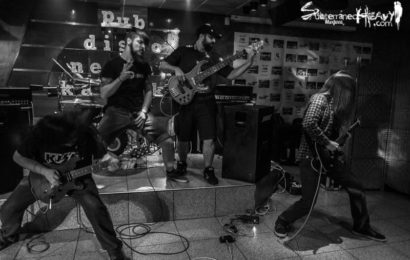 A BLACKENED SIGHT + RIVER CROW – Puertollano (Ciudad Real) – 23/04/2016