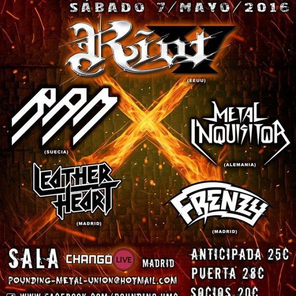 Pounding Metal Fest – Madrid – 07/05/16
