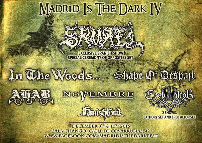 EXILER – HYPER TALBOT + THE MANFLOWS – Madrid Is The Dark Fest IV