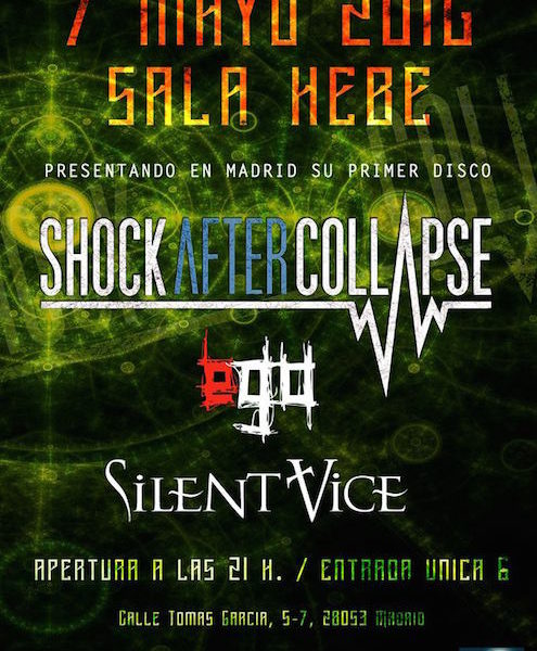SÖLAR – SHOCK AFTER COLLAPSE – Siempre Eternos Tour Fest