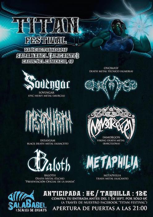 TIERRA SANTA – Metal Norte Festival – Titan Festival