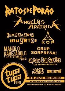 Tupa Tupa Fest – TÁLESIEN – SOVENGAR