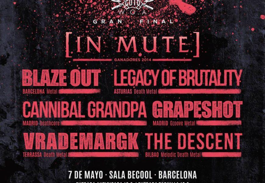 Final W:O:A Metal Battle Spain – Barcelona – 07/05/2016