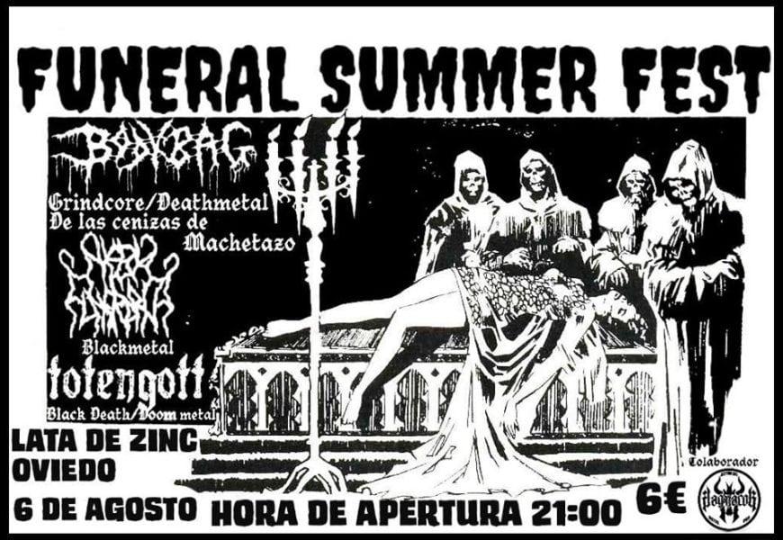 Funeral summer fest – SIMULACRUM (FIN) – Live from devastation