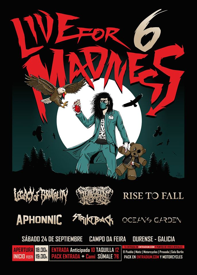 Live For Madness Metal Fest 6