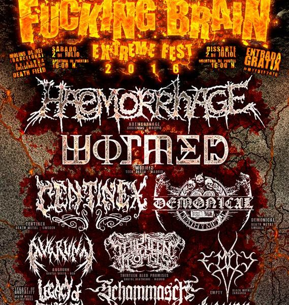 MOVE YOUR FUCKING BRAIN EXTREME FEST 2016