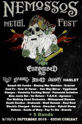 Nemossos Metal Fest – 7 ALMAS – SYNCHRONICAL