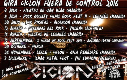CICLÓN – HEAD OVER HELL – FUCK OFF