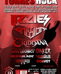 Torres Rock Festival – ADVENT OF BELDAM (CRI) – IRON FIRE (DNK)