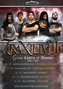 TRAXILIUM – NEXT STEP – Vagos Metal Fest 2016 (PRT)