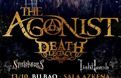 DEATH AND LEGACY + SYNLAKROSS + TIGHT LEASH – STILLNES – PERCIVAL SCHUTTENBACH (POL)