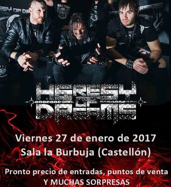 HERESY OF DREAMS – 7 YEARS BACK (FRA)- AZOOMA (IRN)
