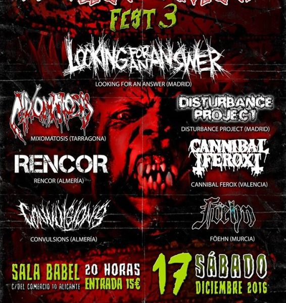 DÜNEDAIN – NECROVEN – Spain Grind Fest 3