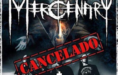 MERCENARY: tour español cancelado