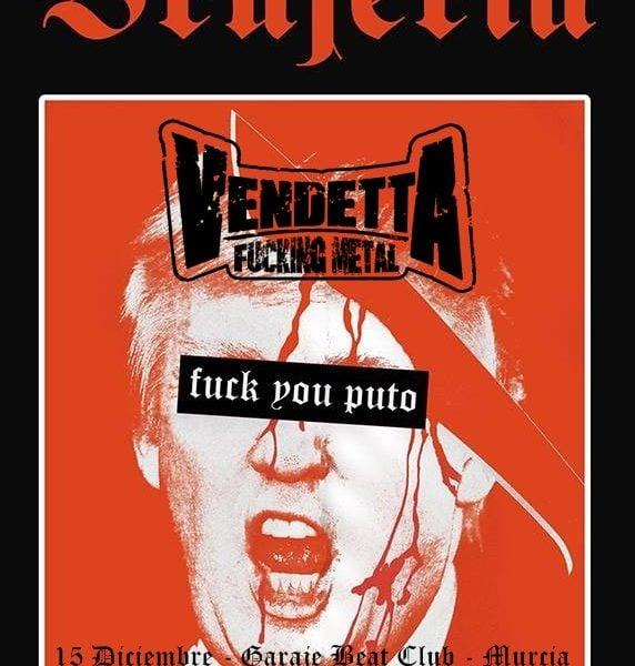 Never Say Die Tour – VENDETTA FUCKING METAL – ETERNAL HALLOWEEN (USA)