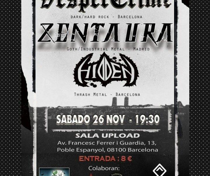 ZENTAURA – HEID – Palacio Metal Fest III