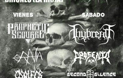 HATE IN VEINS – CuzcuMetal Fest 7 – ETERNAL IDOL (ITA)