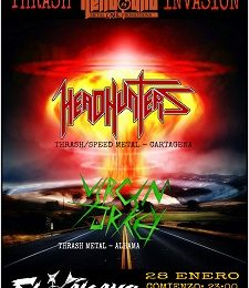 HEADHUNTERS + VIRGIN TURKEY – GUADAÑA – TEMPTATION'S WINGS (USA)