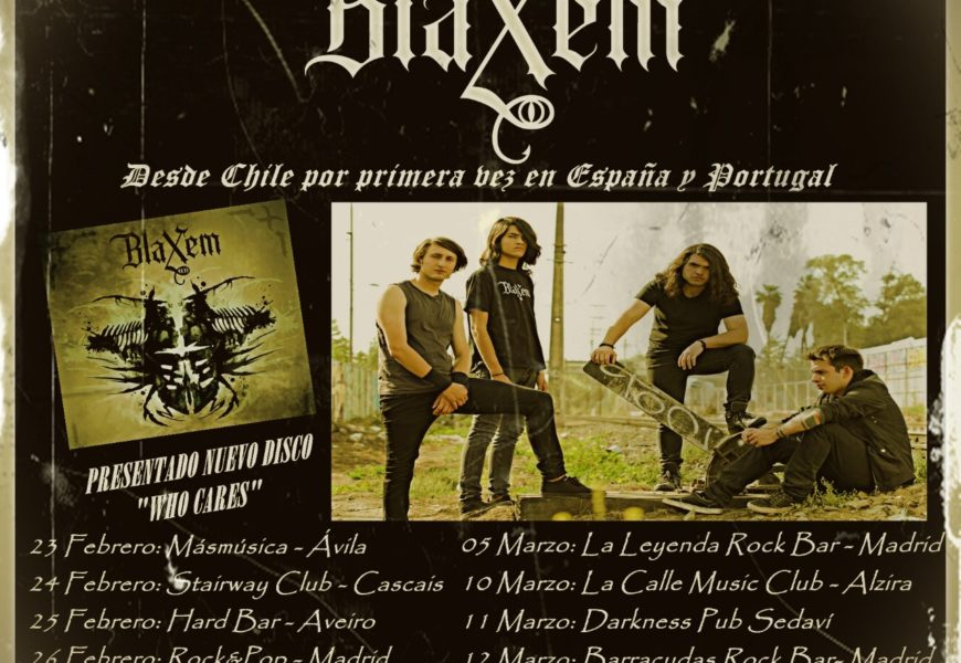 BLAXEM (CHI) – BLASPHEMER (ITA) – VI/TEMPLE OF BAAL/THE ORDER OF APOLLYON (FRA)