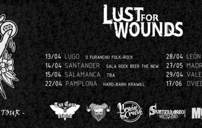 LUST FOR WOUNDS – [IN MUTE] – Aquelarre MetalRock Fest