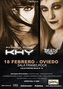 PATRICIA TAPIA KHY – PESTIFER (PRT) – Warm Up Party Z! Live