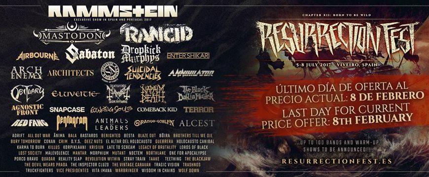 Resurrection Fest 2017 – From North to South Metal Fest – DÜNEDAIN