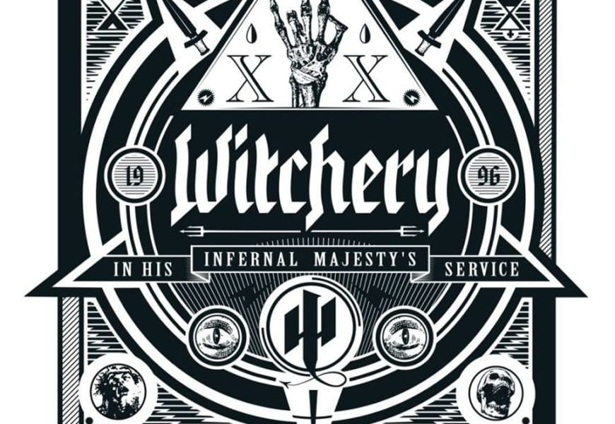 WITCHERY (SWE) – In His Infernal Majesty's service, 2016