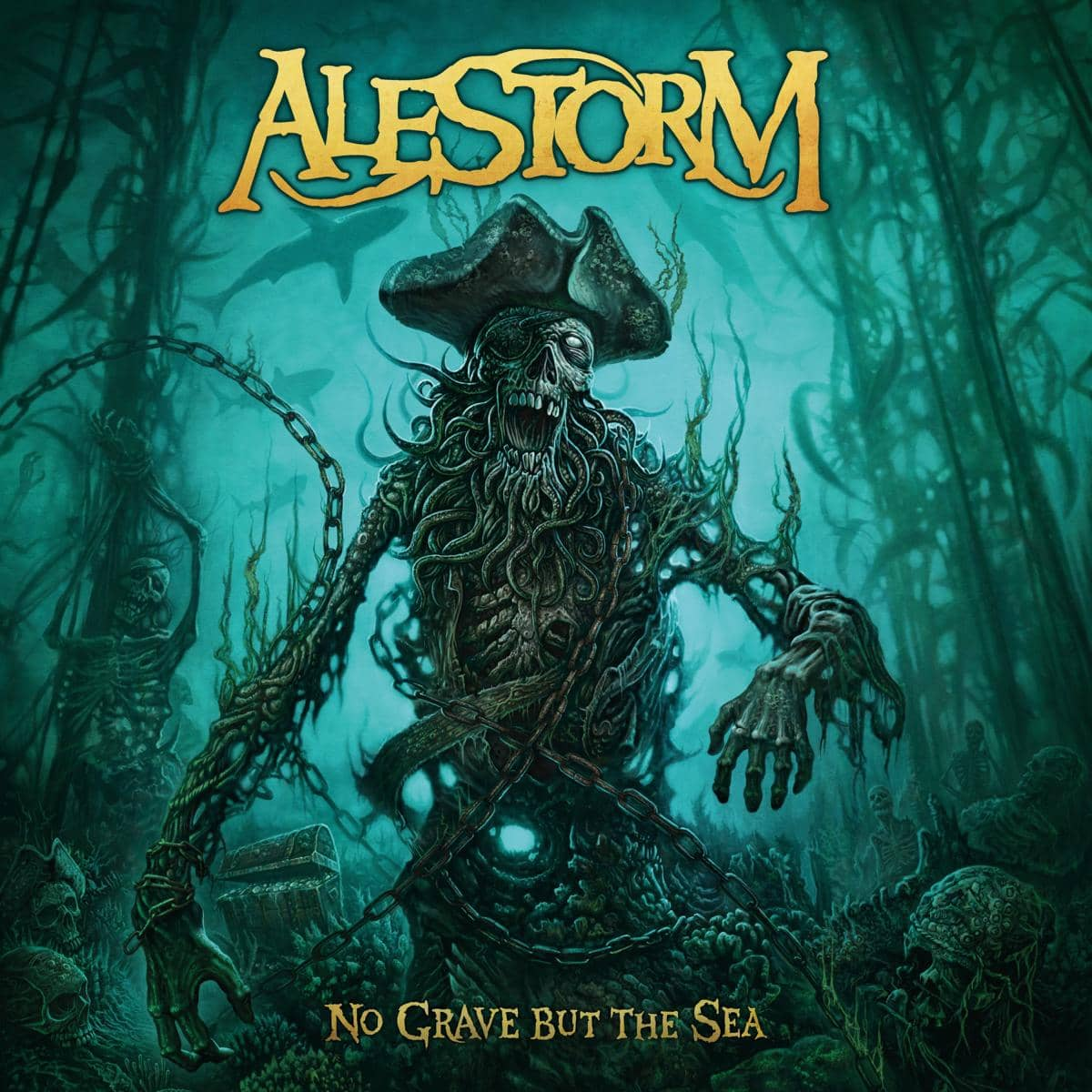 ALESTORM (VCT) – No grave but the sea, 2017